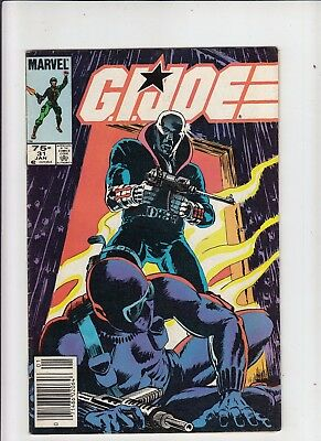 G.I. Joe a Real American Hero #31 75 Cent Canadian Newsstand Price Variant Fine