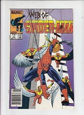 Web of Spider-Man #2 75 Cent Canadian Newsstand Price NM-
