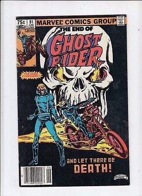 Ghost Rider #81 75 Cent Canadian Newsstand Price Variant VF-