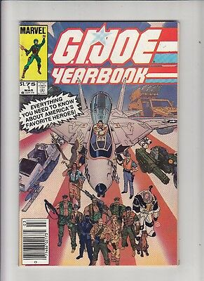 G.I. Joe Yearbook #1 1.75 Canadian Newsstand Price Variant VF