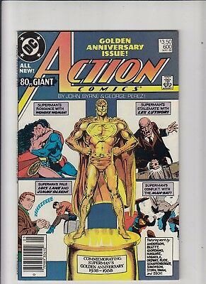 Action Comics #600 3.50 Canadian Newsstand Price Variant VF+