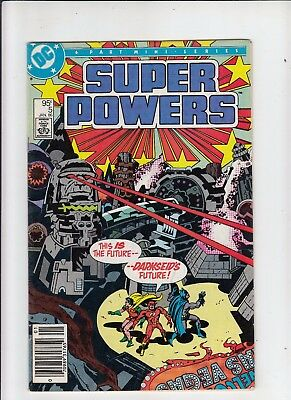 Super Powers #5 95 cent Canadian Newsstand Price (CGC recognized variant) VG