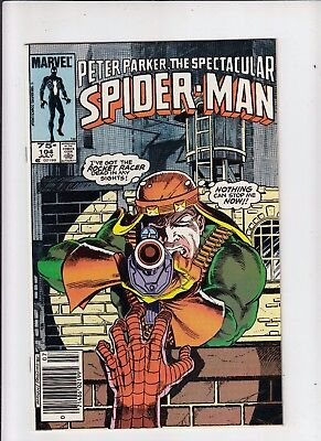 Peter Parker the Spectacular Spider-Man #104 75 cent Canadian Newsstand Price NM