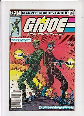 G.I. Joe a Real American Hero #7 75 Cent Canadian Newsstand Price Variant VF