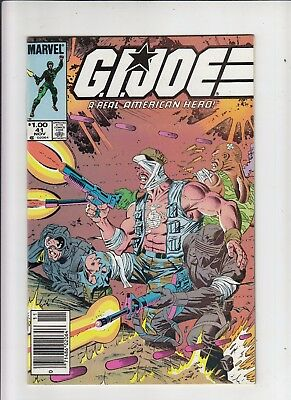 G.I. Joe a Real American Hero #41 1.00 Canadian Newsstand Price Variant VF/NM
