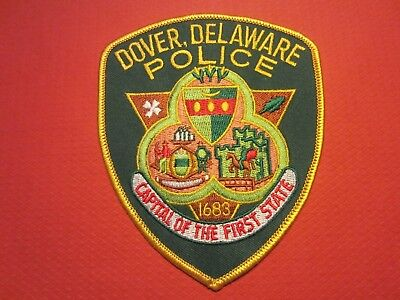 Collectible Delaware Police Patch, Dover, Capital City