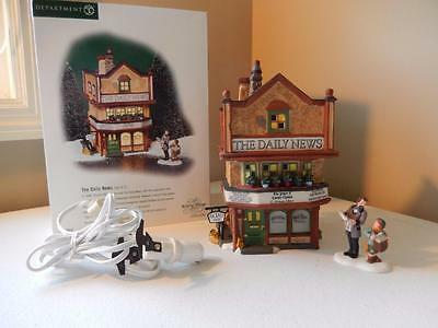Department 56 - Dickens The Daily News - Set of 2 #56.58513