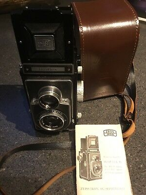 Zeiss Ikon Ikoflex II 6x6 TLR One of the most desirable viewers
