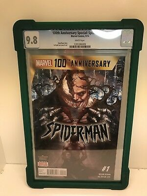 Spider-Man 100Th Anniversary Special # 1 Cgc 9.8! Marvel Now!