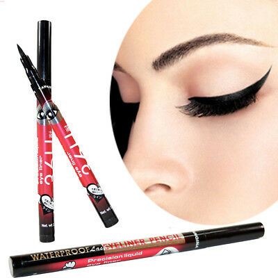 36H Black Waterproof Pen Liquid Eyeliner Eye Liner Pencil Make Up Beauty Yanqina