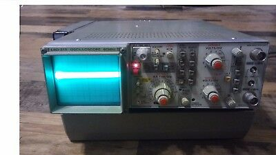 Leader 315 OSCILLOSCOPE with Case Battery Cables LC2131