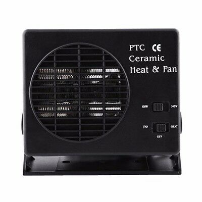 2 in 1 Auto Car Heating Cooling Fan Defroster Ceramic Demister DC 12V 150W/300W