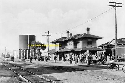 MARICOPA  ARIZONA  The Old Southern Pacific Railroad Station in October 1906