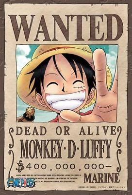 One Piece Wanted Luffy Poster