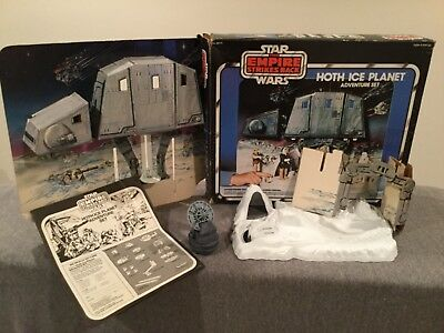 Vintage Kenner The Empire Strikes Back Hoth Ice Planet Adventure Set w/Box
