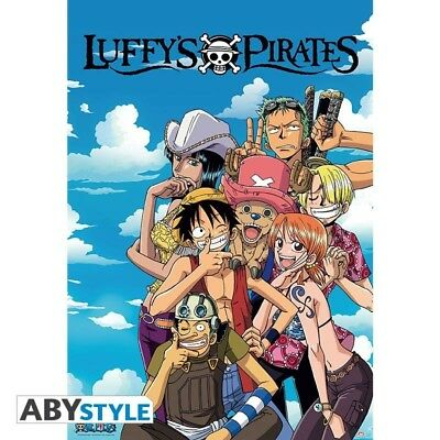 One Piece Luffy's Pirates Poster