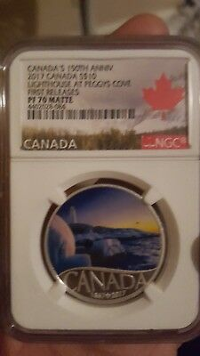 Canada's 150Th Anniversary 2017 Canada S $10 Lighthouse At Peggy's Cove First...