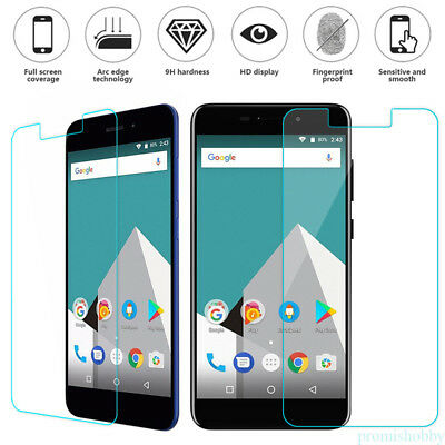 1pcs 9H Tempered Glass Clear Screen Protector Film For Vernee M5/Thor Plus PB1