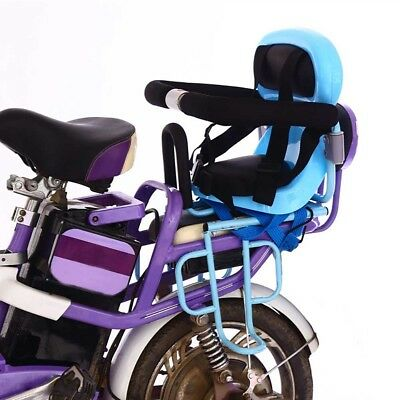 Safety Bicycle Baby Child Kids Electric Car Back Seat Chair Carrier Sport Seats