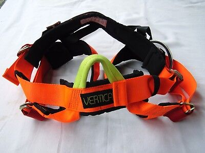 Vertical heavy duty adjustable harness - climbing, abseil, rescue - near new