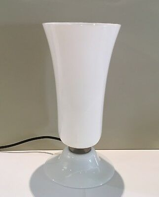 Venini - Lamp Years Thirty Colour Milk glass h cm 32 Murano glass Retailer