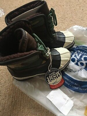 Boys Joules Snow Boots Size UK 12 BNWT