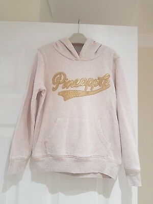 Pineapple Girls Hoodie Age 7-8 Lovely Condition Debenhams