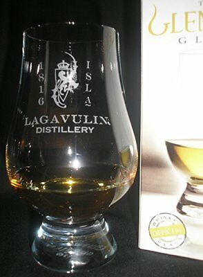 Lagavulin Rampant Lion Glencairn Scotch Whisky Tasting Glass