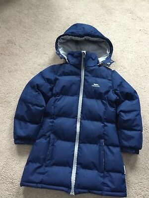 Girls Trespass winter coat Age 5-6 years