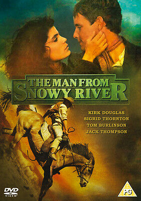 The Man from Snowy River DVD (2017) Kirk Douglas ***NEW***