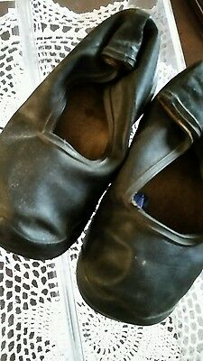 VNTG BABY BOOTS RUBBERS Marked GOODYEAR RUBBER SHOES CO.