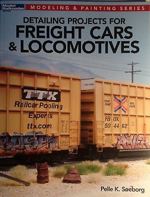 """Kalmbach Book """"Detailing Projects for Freight Cars & Locomotives"""" # 12477"""