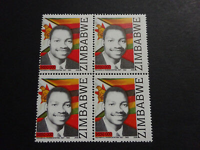 ZIMBABWE :2006 National Heroes series 2 PERFORATION SHIFT - SG1195. - MNH