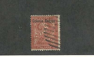 Eritrea (Italy), Postage Stamp, #2 Used, 1892