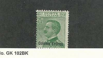 Eritrea (Italy), Postage Stamp, #38 Mint Hinged, 1925