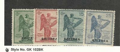 Eritrea (Italy), Postage Stamp, #54-57 Mint LH, 1922