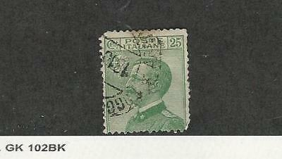 Italy, Postage Stamp, #101 Used, 1927