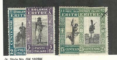 Eritrea (Italy), Postage Stamp, #119-120 Mint Hinged, 122-3 Used, 1930