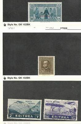 Eritrea (Italy), Postage Stamp, #147 Mint LH, 150 NH, C12-C13 Used, 1931-36