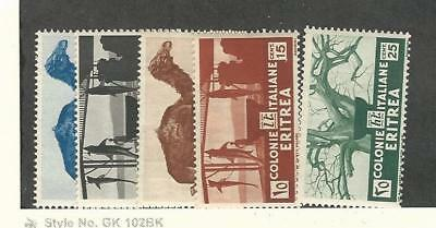 Eritrea (Italy), Postage Stamp, #158-162 Mint NH, 1934 Camel, Animal