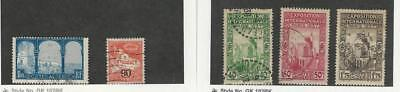 Algeria, Postage Stamp, #62, 72, 109-110, 112 Used, 1926-27 French Colony
