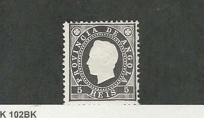 Angola, Postage Stamp, #16 Mint Hinged, 1886 Portugal Colony