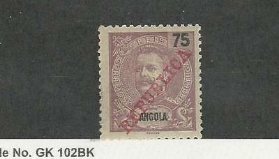 Angola, Postage Stamp, #95 Mint Hinged, 1911 Portugal Colony