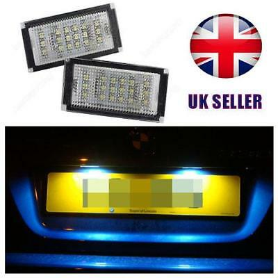 Car Rear LED SMD License Number Plate Light Units 1 x Pair 4 Door Saloon Only