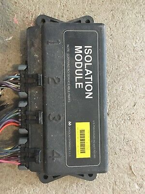 Fisher western plow 4 port yellow isolation module and wiring 99-07 2500hd