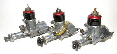 1951 Baby Mac .049 Triplets Model Airplane Engines