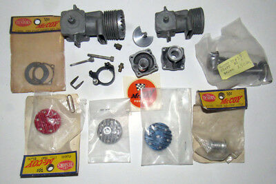 McCOY 19 & 29 MODEL AIRPLANE ENGINE PARTS