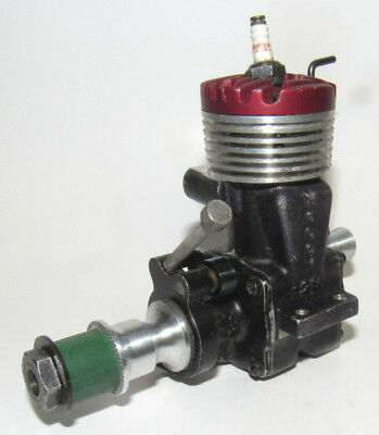 1947 McCOY RED HEAD 29 SPARK MODEL AIRPLANE ENGINE