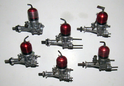 1953 McCOY .049 DURO-GLO DIESEL MODEL AIRPLANE ENGINES