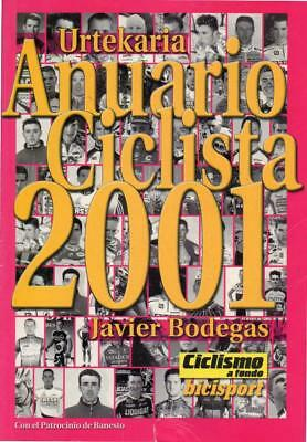 Cycling - International Pro Rider Guide, 2001, Palmares, Results, 700 pages